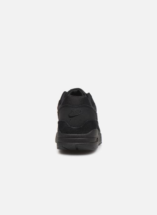 Sneakers Nike Wmns Air Max 1 Zwart rechts