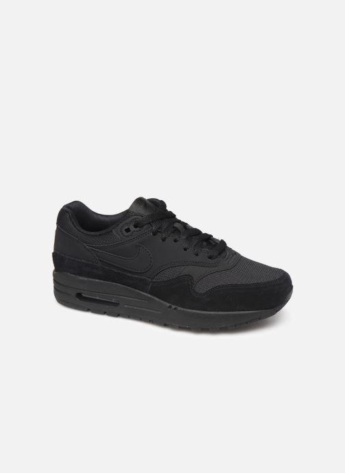 Sneaker Nike Wmns Air Max 1 schwarz detaillierte ansicht/modell