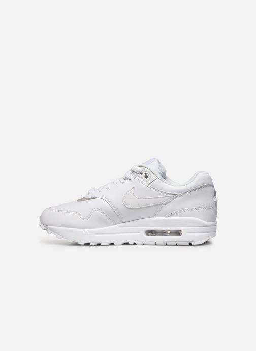Sneakers Nike Wmns Air Max 1 Wit voorkant