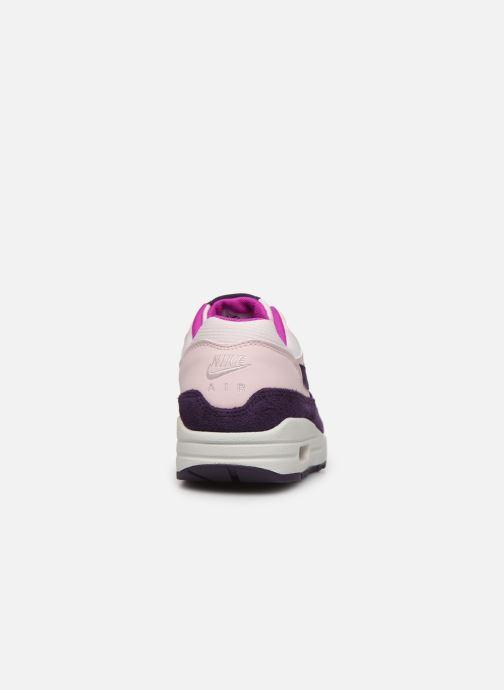 Baskets Nike Wmns Air Max 1 Rose vue droite