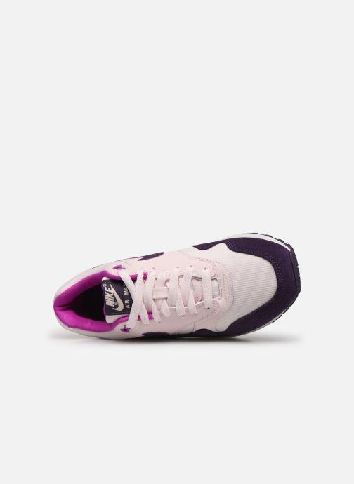 Baskets Nike Wmns Air Max 1 Rose vue gauche