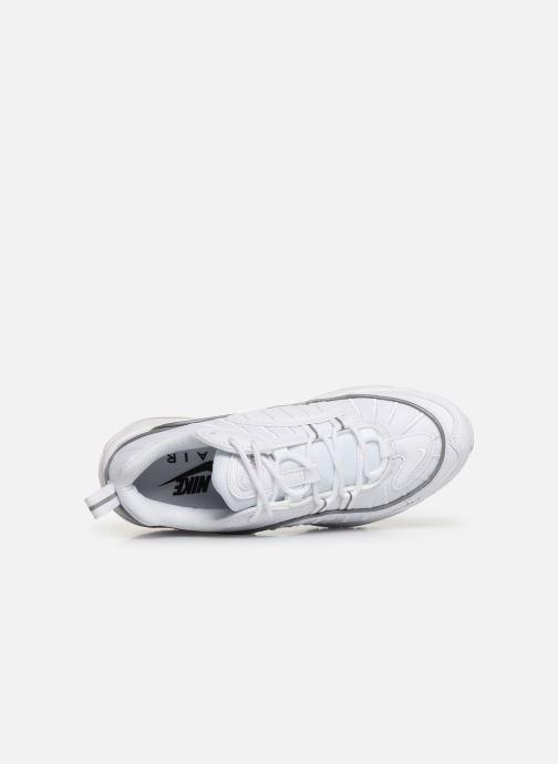 Deportivas Nike W Air Max 98 Blanco vista lateral izquierda