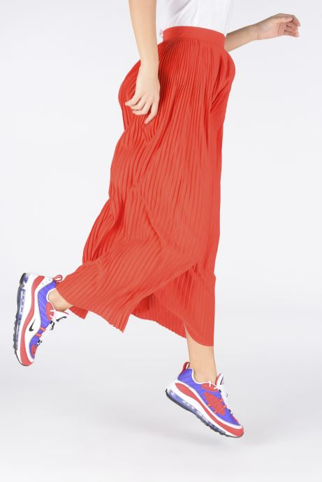 Sneaker Nike W Air Max 98 lila ansicht von unten / tasche getragen