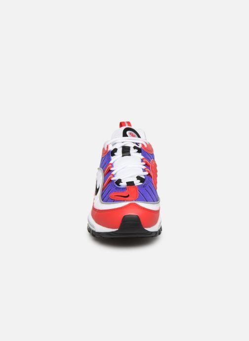 Sneakers Nike W Air Max 98 Viola modello indossato