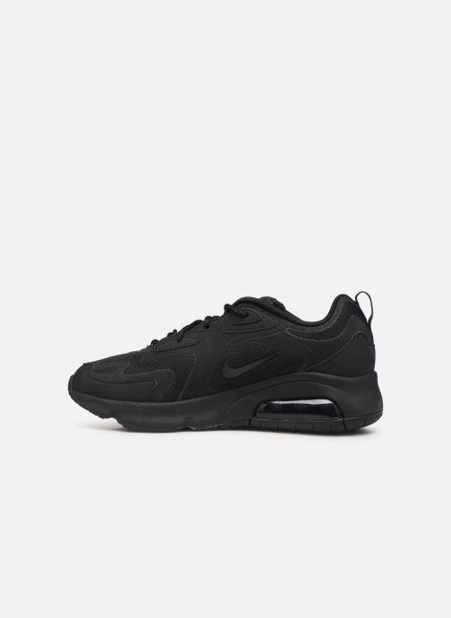 Sneaker Nike Air Max 200 schwarz ansicht von vorne
