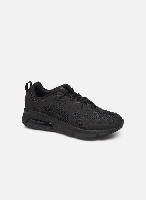 Sneaker Nike Air Max 200 schwarz detaillierte ansicht/modell