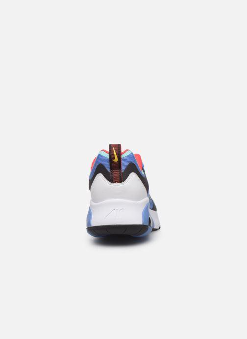 Deportivas Nike Air Max 200 Azul vista lateral derecha