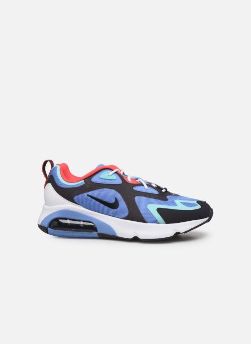 Deportivas Nike Air Max 200 Azul vistra trasera