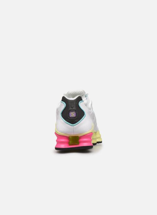 Nike W Nike Shox Tl (Blanc) Baskets chez Sarenza (389130)