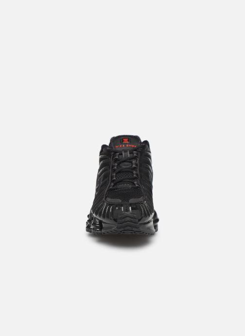 Sneaker Nike W Nike Shox Tl schwarz schuhe getragen