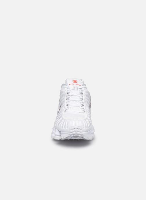 Baskets Nike W Nike Shox Tl Blanc vue portées chaussures