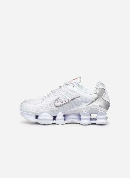 Baskets Nike W Nike Shox Tl Blanc vue face