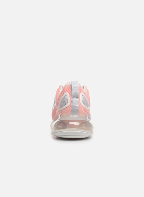 Deportivas Nike W Air Max 720 Naranja vista lateral derecha