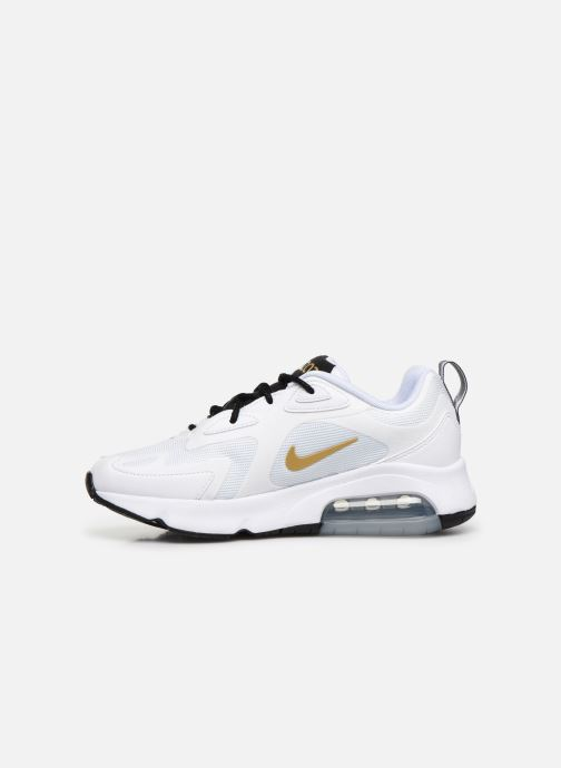 Baskets Nike W Air Max 200 Blanc vue face