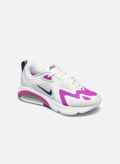 Baskets Nike W Air Max 200 Blanc vue détail/paire