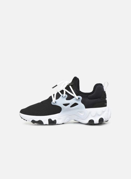 Sneakers Nike Nike React Presto Zwart voorkant