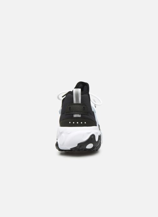 Trainers Nike Nike React Presto Black view from the right