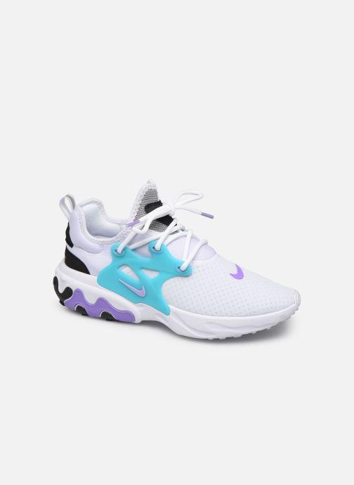 Baskets Nike Nike React Presto Blanc vue détail/paire