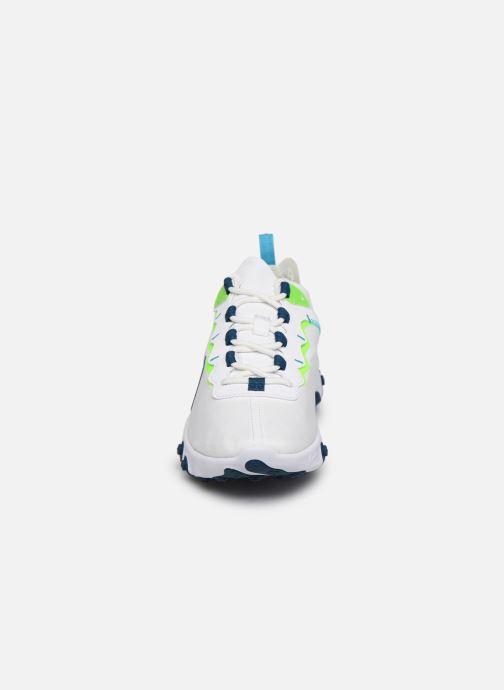 Sneaker Nike W Nike React Element 55 weiß schuhe getragen