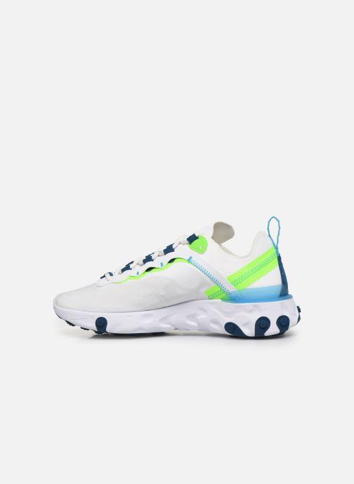 Sneaker Nike W Nike React Element 55 weiß ansicht von vorne