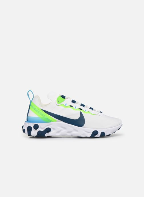 Sneakers Nike W Nike React Element 55 Vit bild från baksidan