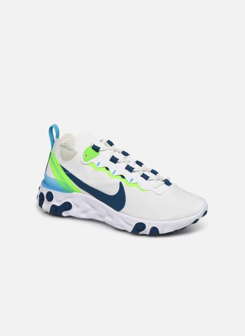 Sneakers Nike W Nike React Element 55 Vit detaljerad bild på paret