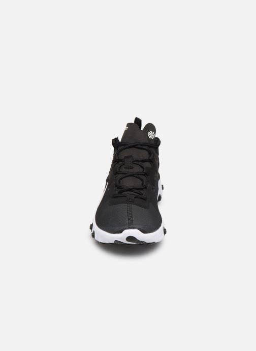 Baskets Nike W Nike React Element 55 Noir vue portées chaussures