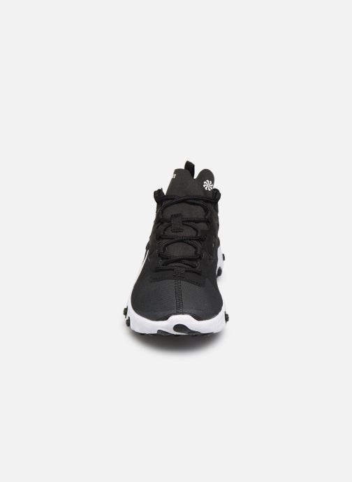 Deportivas Nike W Nike React Element 55 Negro vista del modelo