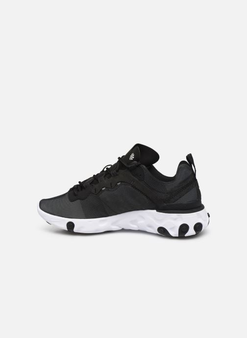 Deportivas Nike W Nike React Element 55 Negro vista de frente