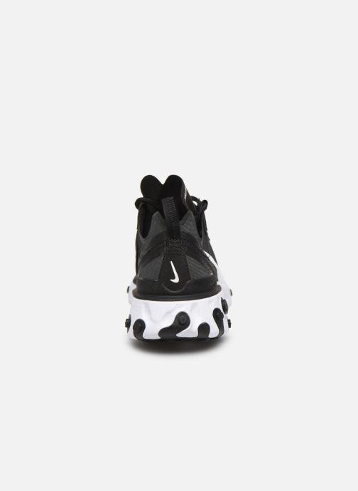 Deportivas Nike W Nike React Element 55 Negro vista lateral derecha