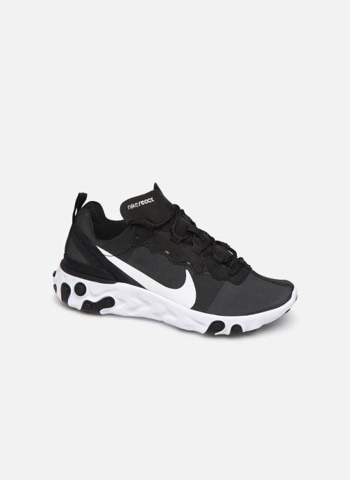Deportivas Nike W Nike React Element 55 Negro vista de detalle / par
