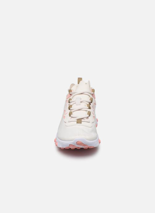 Baskets Nike W Nike React Element 55 Beige vue portées chaussures