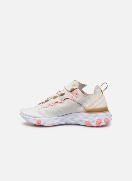 Nike W Nike React Element 55 (Beige) - Sneakers  Beige (Phantom/Lt Orewood Brn-Parachute Beige) - schoenen online kopen