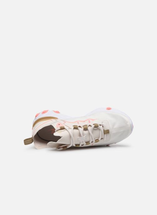 Sneaker Nike W Nike React Element 55 beige ansicht von links