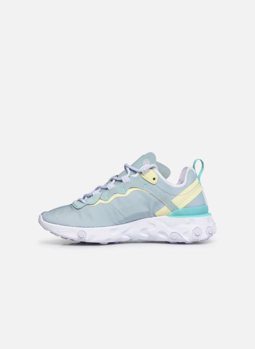 Baskets Nike W Nike React Element 55 Bleu vue face