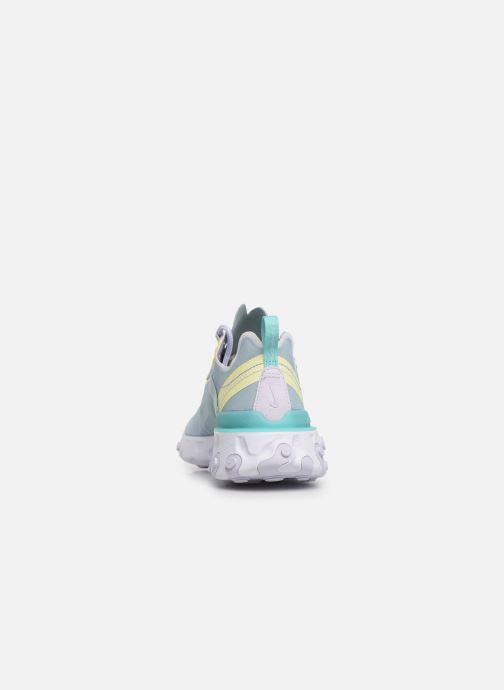 Baskets Nike W Nike React Element 55 Bleu vue droite