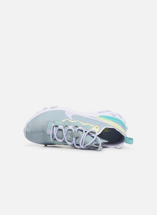 Baskets Nike W Nike React Element 55 Bleu vue gauche