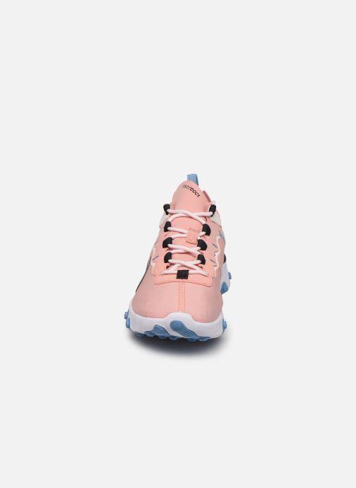 Deportivas Nike W Nike React Element 55 Rosa vista del modelo