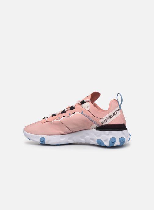 Sneakers Nike W Nike React Element 55 Pink se forfra