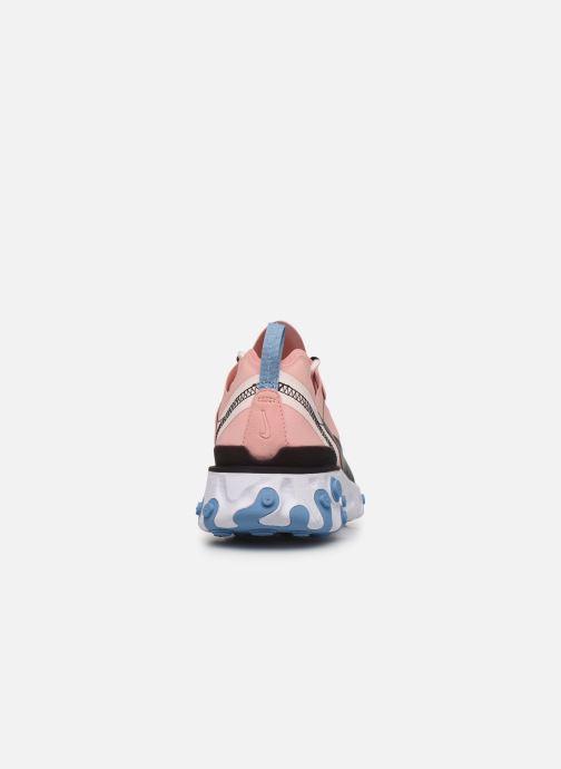 Sneakers Nike W Nike React Element 55 Pink Se fra højre