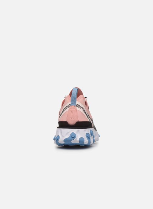 Trainers Nike W Nike React Element 55 Pink view from the right