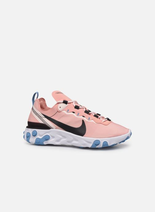 Deportivas Nike W Nike React Element 55 Rosa vistra trasera
