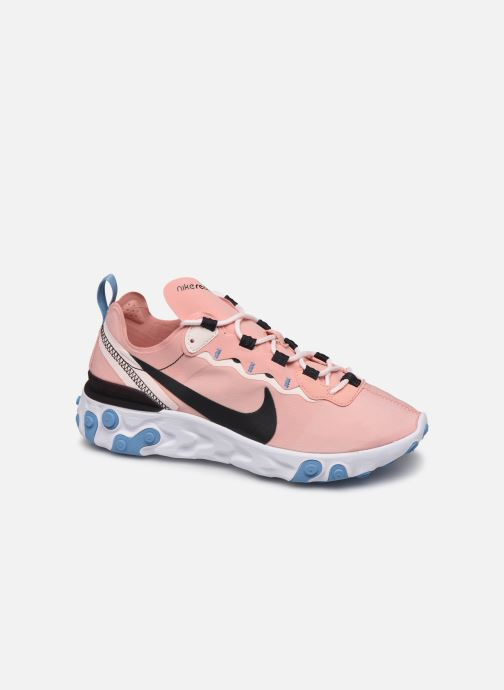 Trainers Nike W Nike React Element 55 Pink detailed view/ Pair view