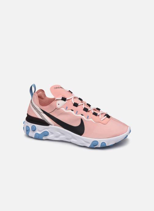 Sneakers Nike W Nike React Element 55 Pink detaljeret billede af skoene