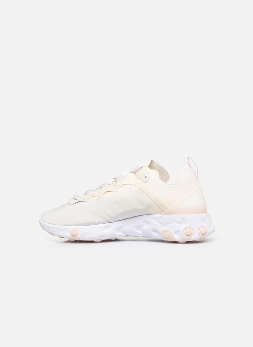 Sneakers Nike W Nike React Element 55 Hvid se forfra