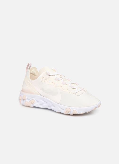 Baskets Nike W Nike React Element 55 Blanc vue détail/paire