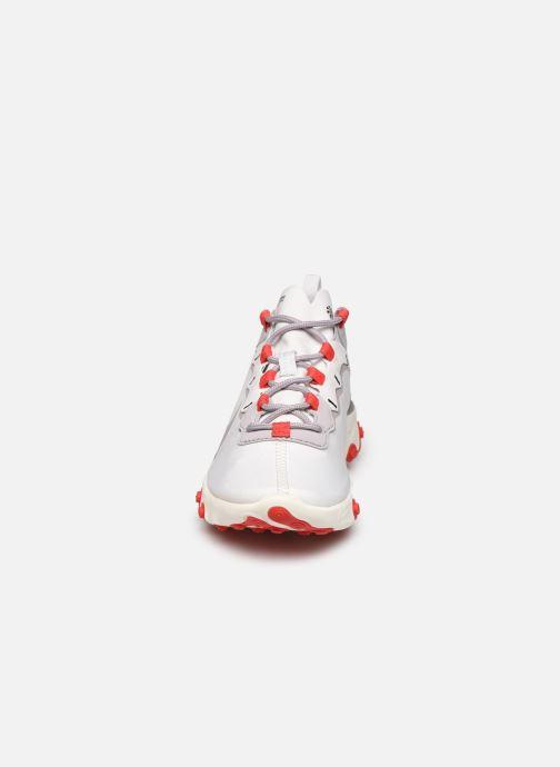 Baskets Nike W Nike React Element 55 Blanc vue portées chaussures