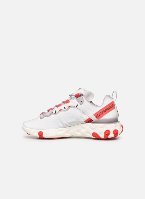 Sneakers Nike W Nike React Element 55 Bianco immagine frontale
