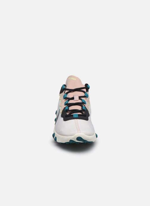 Baskets Nike W Nike React Element 55 Rose vue portées chaussures