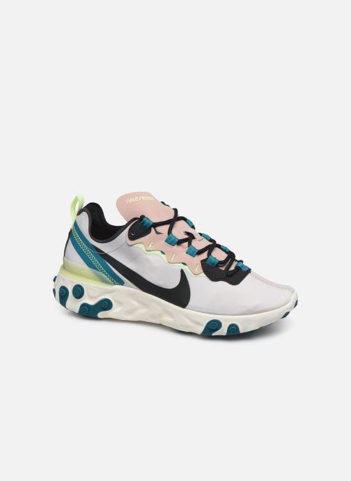Baskets Nike W Nike React Element 55 Rose vue détail/paire